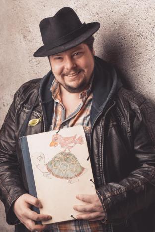 Ingo S. Anders mit Hut