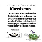 #diverserdonnerstag: Klassismus